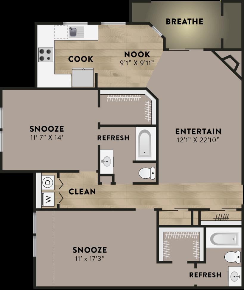 Allure Apartments: Apartments For Rent Aurora CO