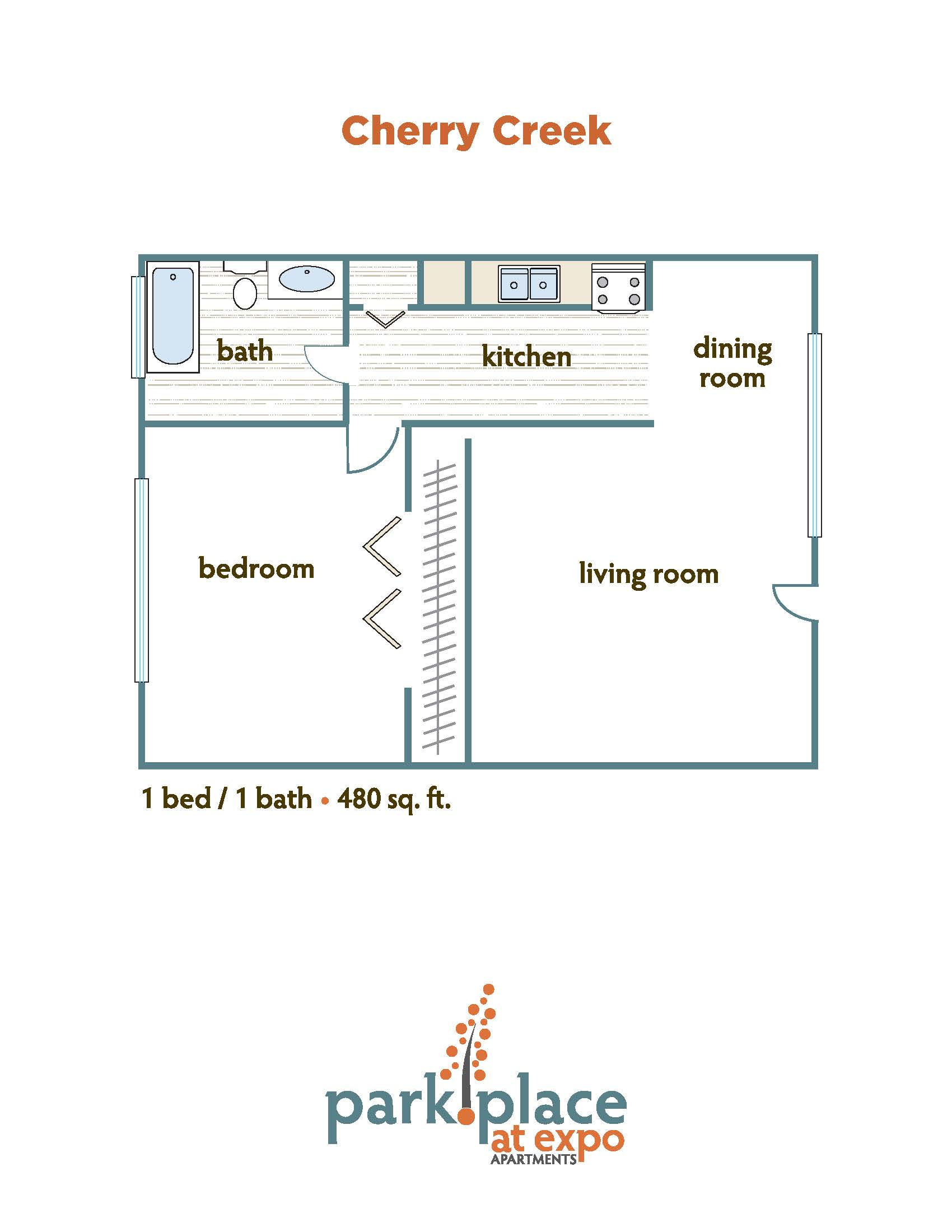 Cherry Creek floorplan