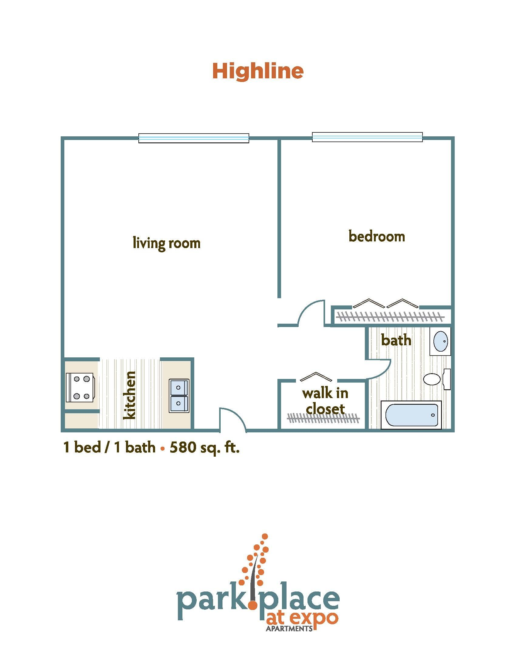 Highline floorplan