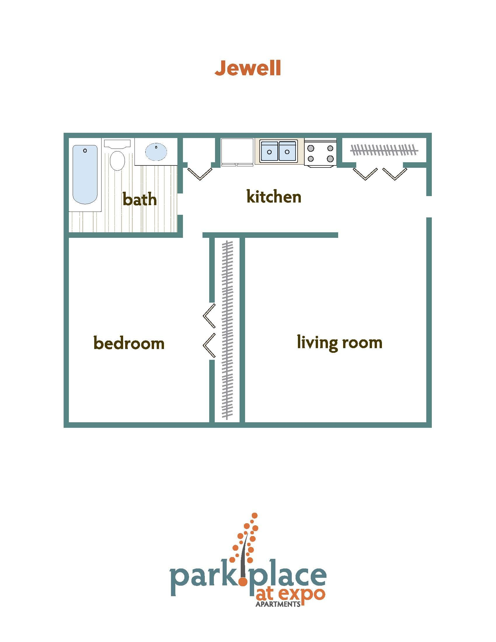 Jewell floorplan