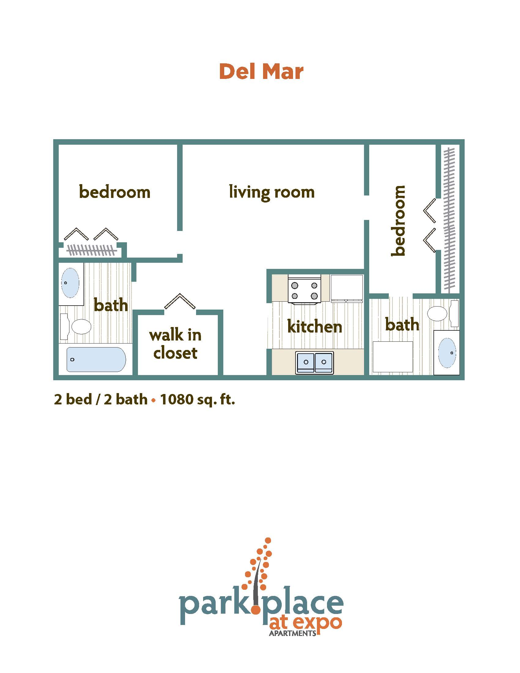 Del Mar floorplan