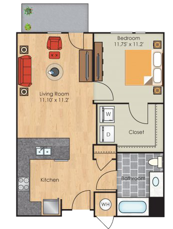 South Beach floorplan