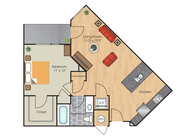 San Francisco floorplan