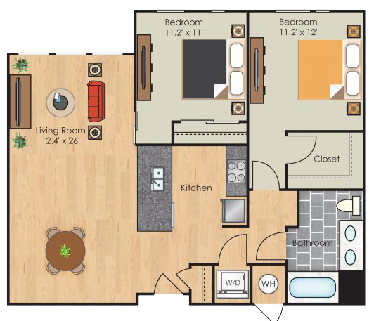 Berkeley floorplan