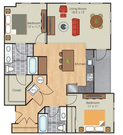 Dallas floorplan