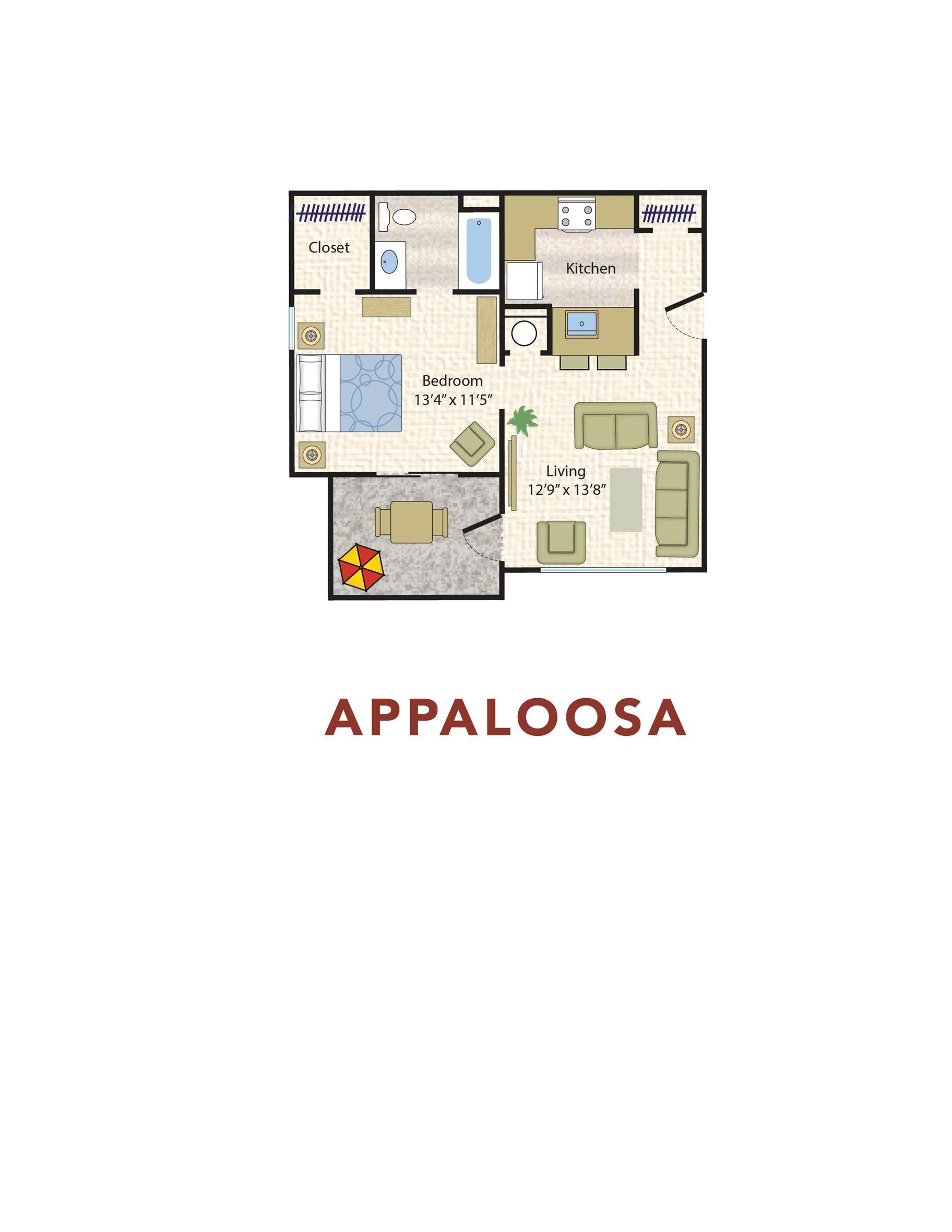Appaloosa floorplan