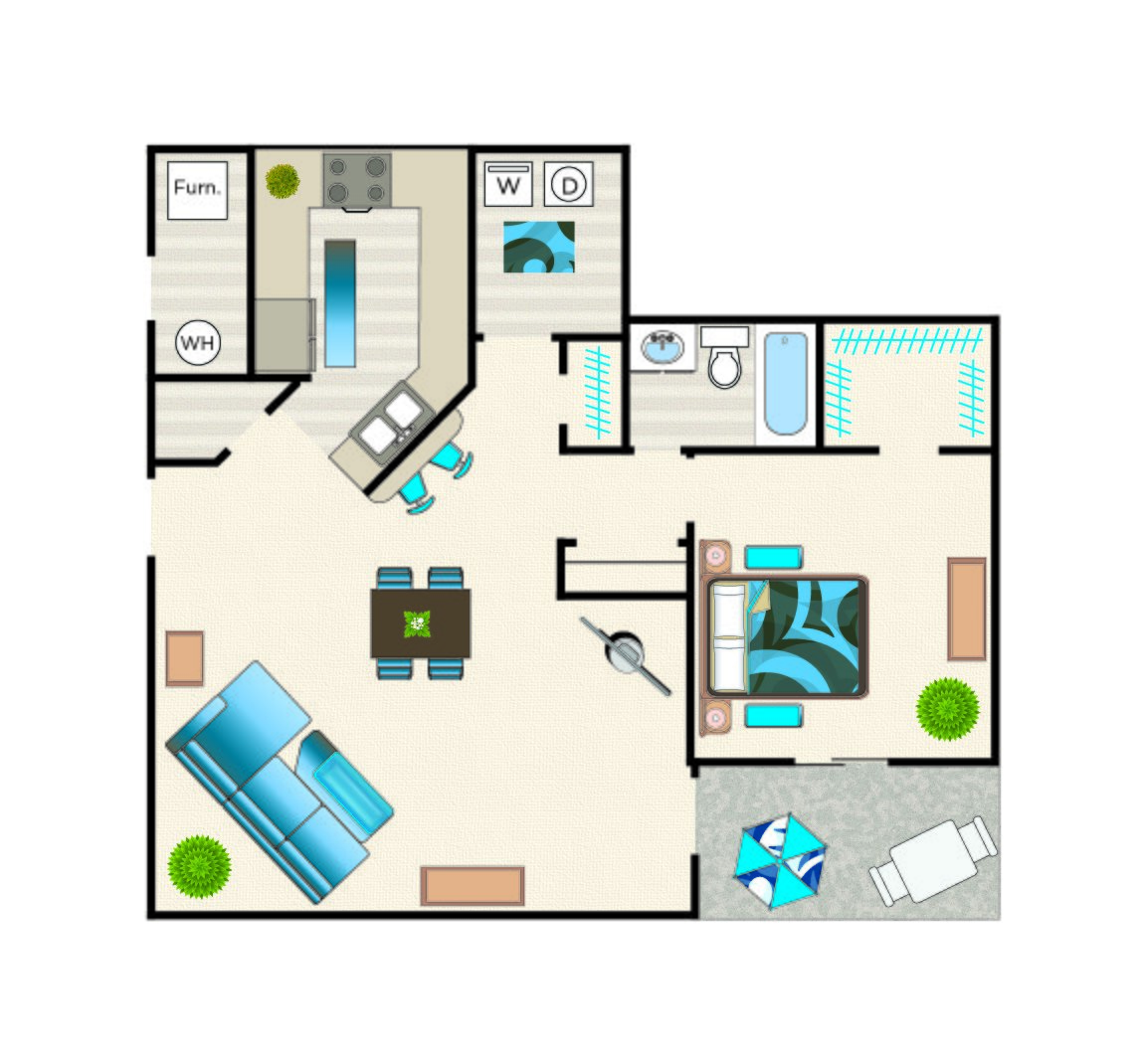 Liberty - 2nd Floor floorplan