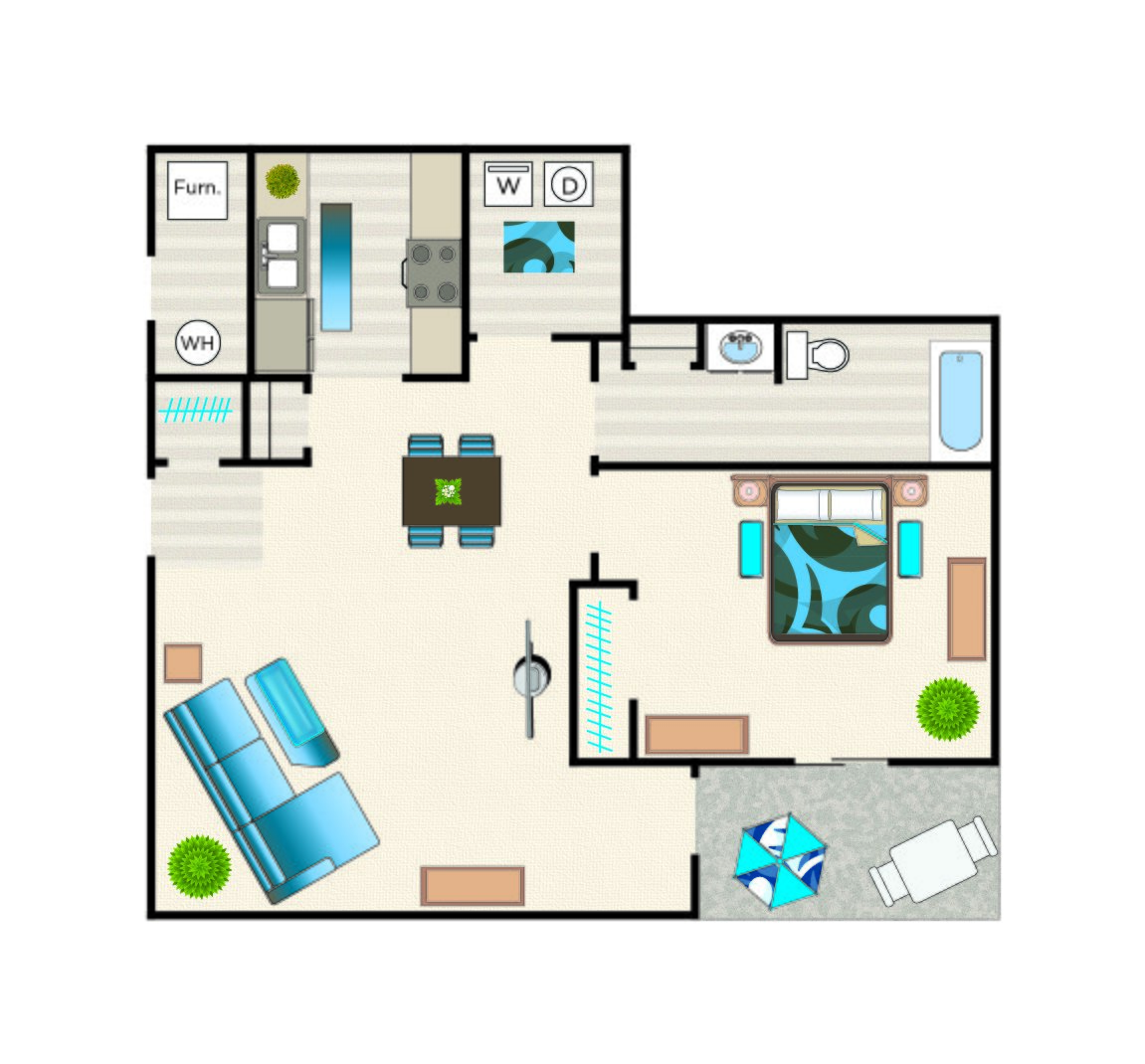 Liberty -First Floor floorplan