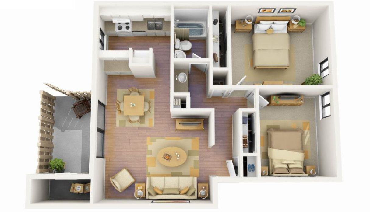 The Blue Spruce floorplan