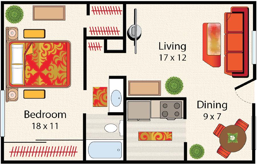 Denver Colorado Apartments Downtown Mosaic Home