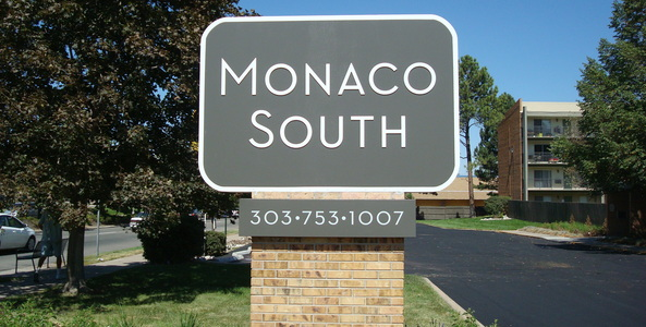 Monaco South Monument Sign