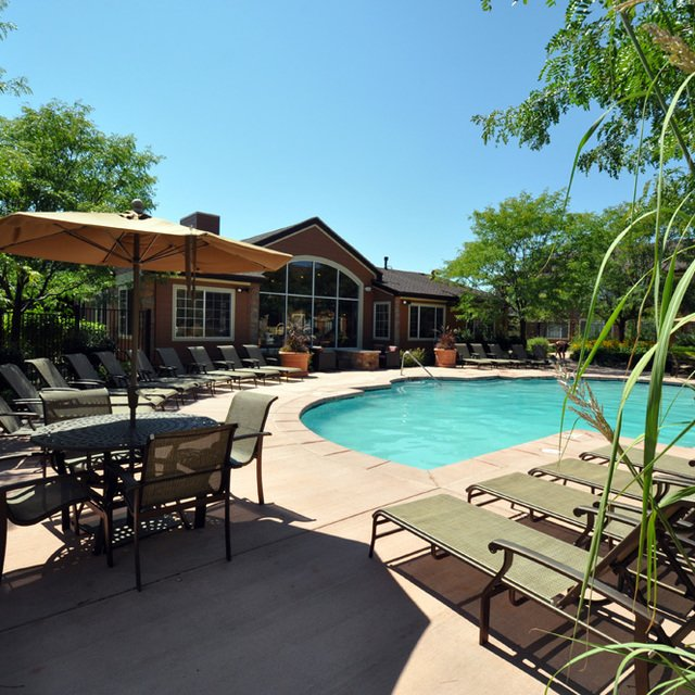 The Seasons At Horsetooth Crossing Apartments Pool