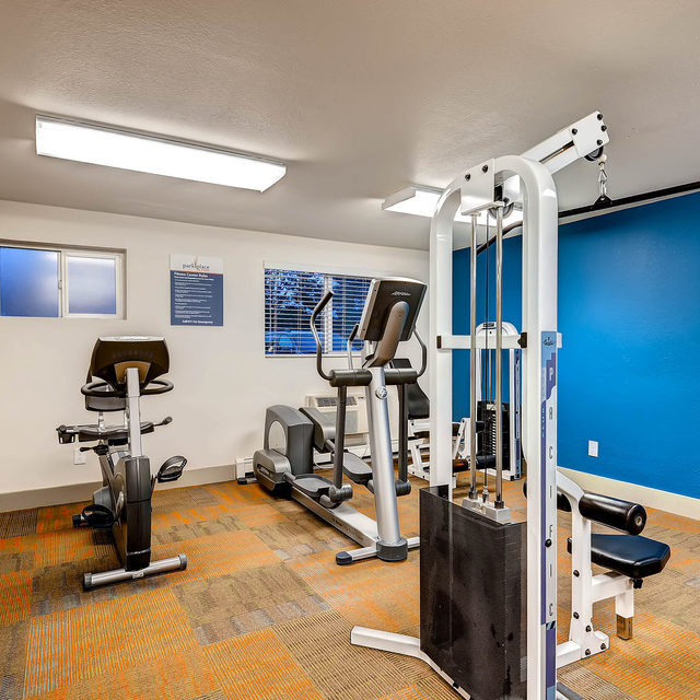 Park Place At Expo Apartment Fitness Center