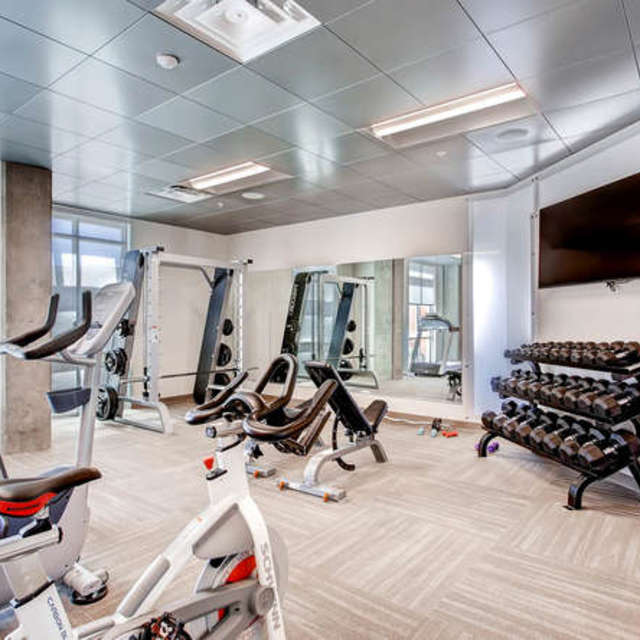 Old Town Flats - fitness area amenity