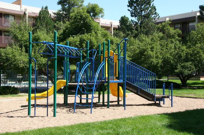 Playground of Monaco South Apartments