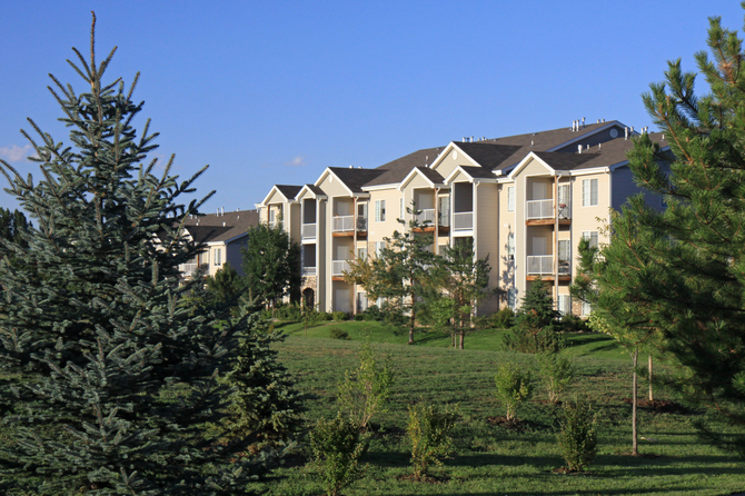 Peakview by Horseshoe Lake Apartments Exterior Photo