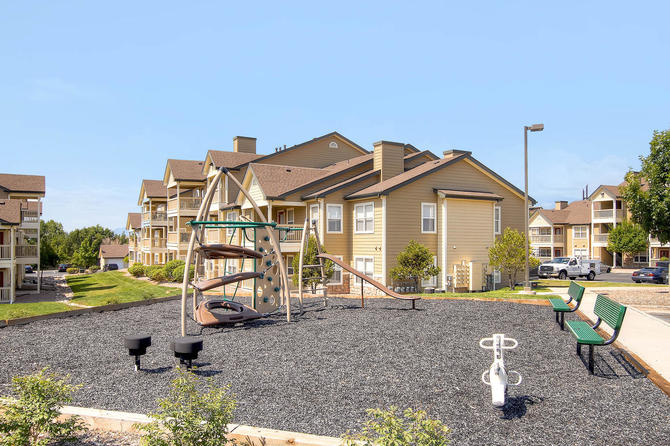Playground Of  Bellaire Ranch Apartments