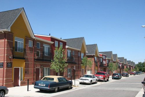 Florence Square Apartments - Exterior View