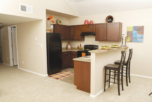 Florence Square Apartment Kitchen