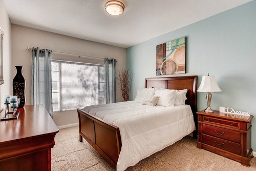 Bright Large Bedroom of Seasons Horsetooth Crossing Apartments