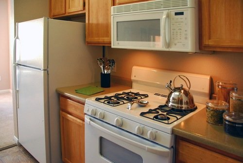 Large Kitchen of Seasons Horsetooth Crossing Apartments
