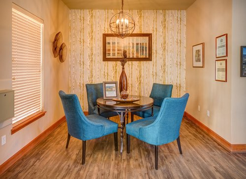 Bellaire Ranch Apartment Dining Room