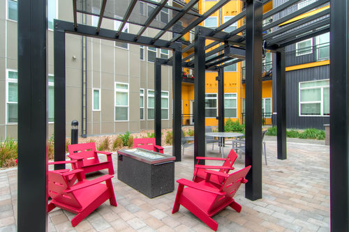 Block at 32 RiNo Fire Pit