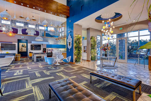 Terra Vida - Clubhouse interior for residents