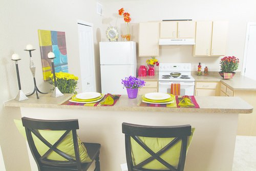 Florence Square Apartments Kitchen