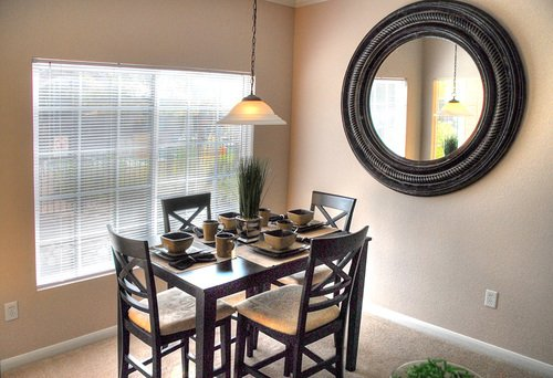 The Seasons At Horsetooth Crossing Apartment Dining Room