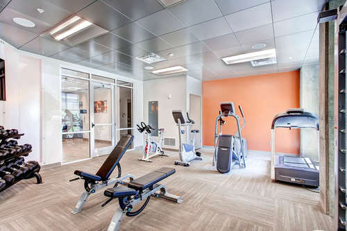 Old Town Flats - fitness amenity center