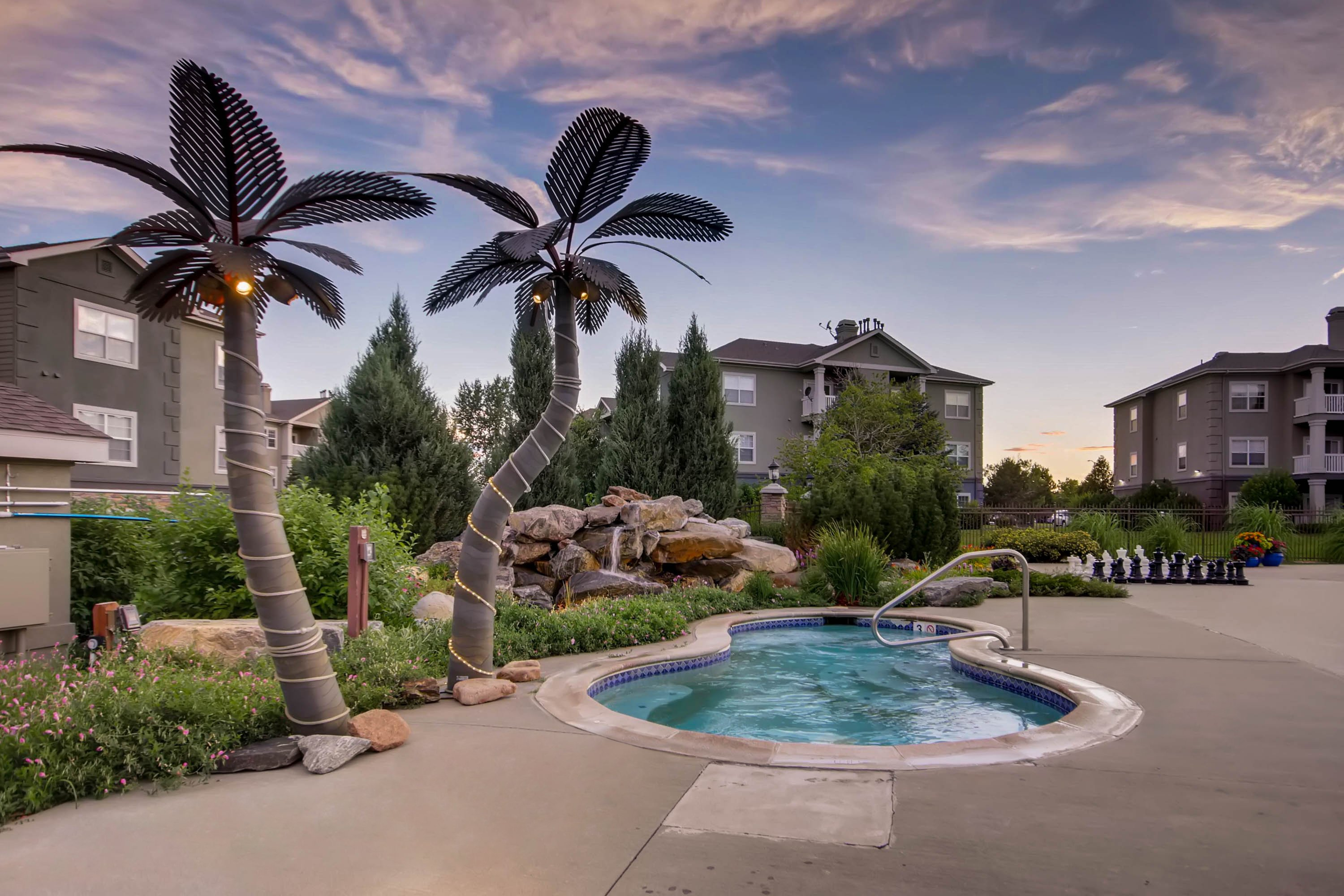 9a2ef3e3325 Stone Mountain Apartments - Outdoor Pool Area and Jacuzzi